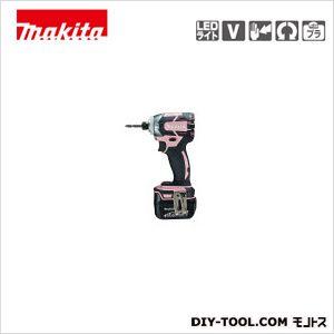 充電式インパクトドライバ (付属品)バッテリBL1430×2本・ 充電器DC18RC ピンク  TD137DRFXP