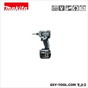 充電式インパクトドライバ (付属品)バッテリBL1430×2本・ 充電器DC18RC 白  TD137DRFXW