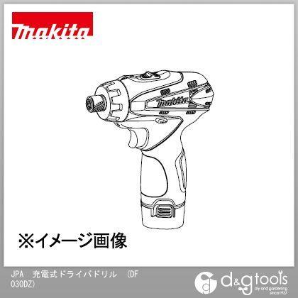 マキタ JPA 充電式ドライバドリル[本体のみ/バッテリ・ 充電器別売]   DF030DZ
