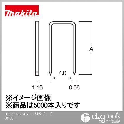 ステープル 422JS (F-80130) (5000本入×1箱)