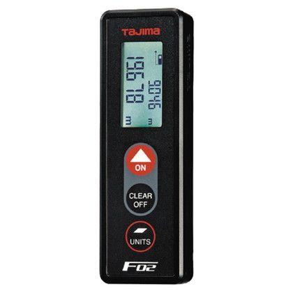 レーザー距離計F02  111×35.5×22.5mm LKT-F02BK
