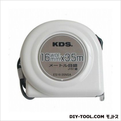 コンベックス 白 16mm巾3.5m ES16-35NSA