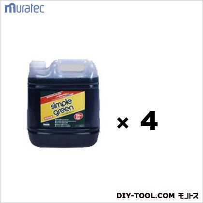 シンプルグリーン詰替用 多目的環境洗剤 (SGN-4LX4) 1ケース(4L×4本)