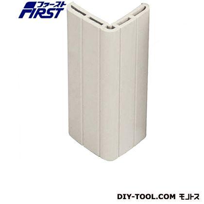 簡単取付コーナーガード「かどまる君」バラ入 ホワイトグレー 35×35×t6×1000mm 001-9103