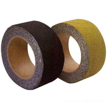 屋外用滑り止め すべらんテープ 黒 50mm×5m 453-0031