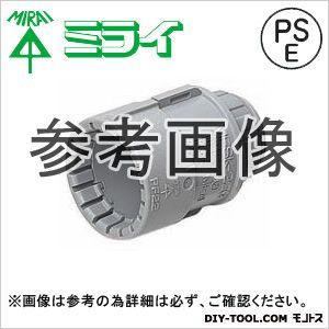 コネクタ(PF管用) グレー (MFSK-16GSH) 10ヶ
