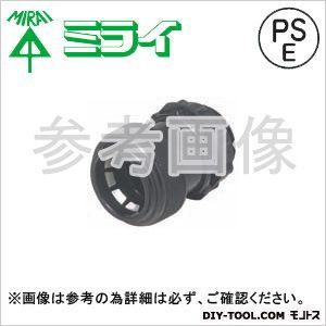 コネクタ(PF管用) 黒  FPK-16YK 10 ヶ