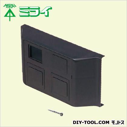 巾木ダクト用 コンセントボックス チョコレート  PHD-CBT