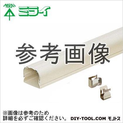 未来工業 スッキリライン (エアコン配管用ダクト) ホワイトブラウン  GK-70-22WB 6 ヶ