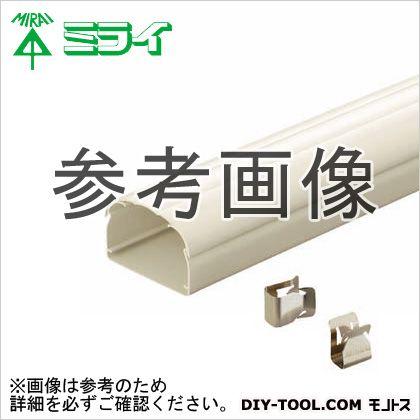 スッキリラインE (エアコン配管用ダクト) ホワイトブラウン  GK-70E22WB 6 ヶ