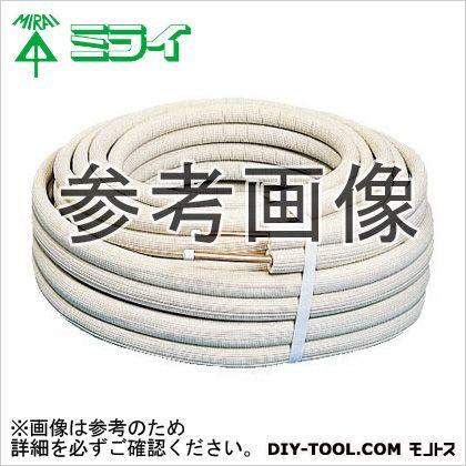 エアコンチューブ (冷・暖兼用のエアコン配管用被覆銅管) アイボリー  S-BWG-202