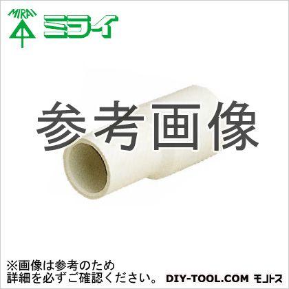 ドレンパイプ付属品 異径ソケット ミルキーホワイト (DPI-2520) 10個
