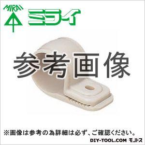 ワニグチ片サドル(兼用タイプ) ミルキーホワイト (KTK-D18NM) 50ヶ