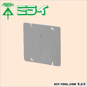 未来工業 プラ塗代カバー (大形四角用)プラスチック製塗代カバー グレー  OFL-12P-M 10 ヶ