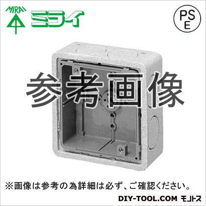 埋込四角アウトレットボックス(断熱カバー付)断熱カバー(10mm厚) (CDO-4AD)