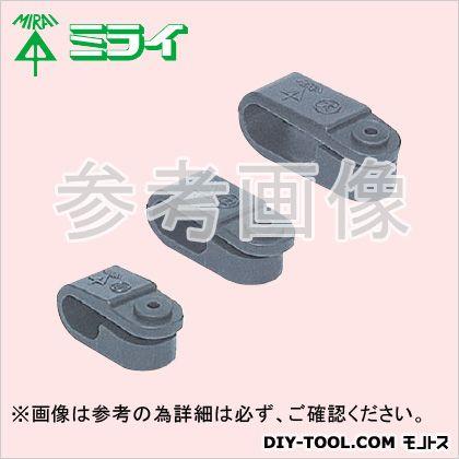 VV-F片サドル (プラスチック製)木ビス付 グレー (KTB-S) 100個入