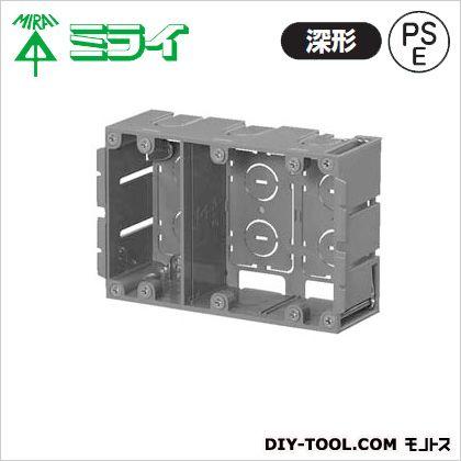 深形パネルボックス(あと付はさみボックス) (SBP-3WY)