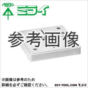 未来工業 ポリ台(照明器具取付用プラスチック絶縁台) 白  POW-1212W