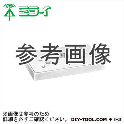 未来工業 ポリ台(照明器具取付用プラスチック絶縁台) 白  POW-0810W