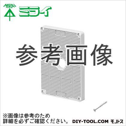 未来工業 ポリ台(取付自在型)照明器具取付用プラスチック絶縁台 白  POWF-3121W