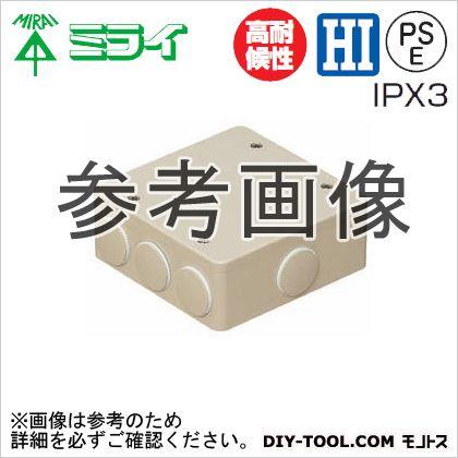 PVKボックス(防水タイプ)おねじキャップ付 グレー  PVK-BLNP