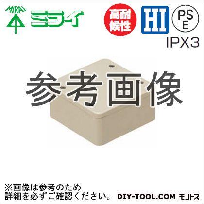 PVKボックス(防水タイプ)ノック無し グレー (PVK-AOP)