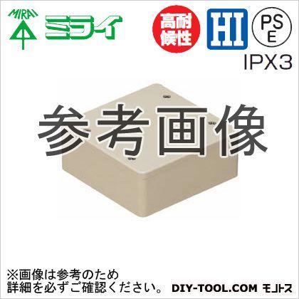 PVKボックス(防水タイプ)ノック無し グレー  PVK-BLOP