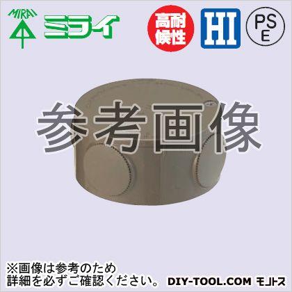 露出用丸形ボックス(ブランクタイプ) チョコレート (PVM-0T)