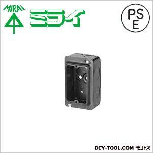 埋込スイッチボックス(鉄製セーリスボックス)塗代付   OF-CSW-1N