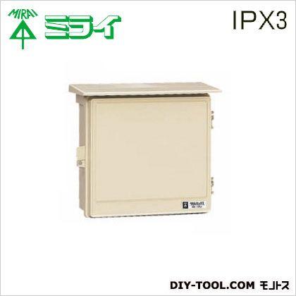ウオルボックス (プラスチック製防雨スイッチボックス)屋根付   WB-12AJ