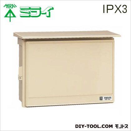 ウオルボックス (プラスチック製防雨スイッチボックス)屋根付 (WB-15AJ)