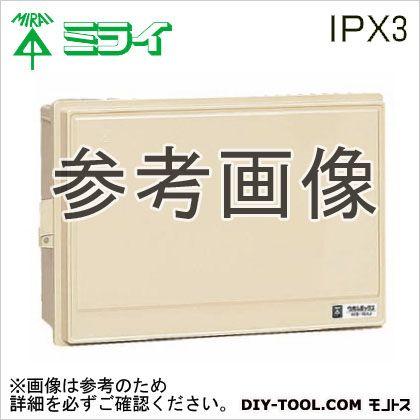 ウオルボックスR(プラスチック製防雨スイッチボックス)屋根無   WB-15AODG