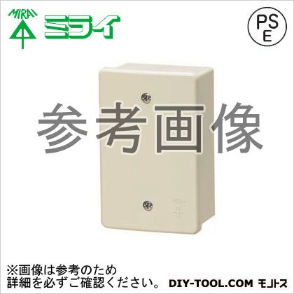 露出スイッチボックス(カブセ蓋付き) (PVR22-0PJ)