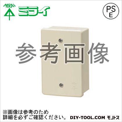 露出スイッチボックス(カブセ蓋付き) (PVR22-0PM)