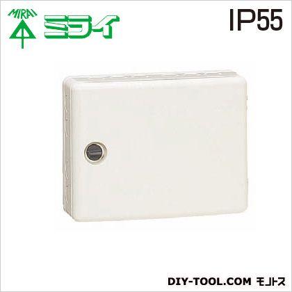 情報ウオルボックス (屋外用)防水・防塵タイプ(カバー左右開き)   WBR-12M