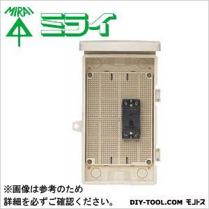 未来工業 組込み用配線ボックス 電気温水器・エコキュート用   1D-123