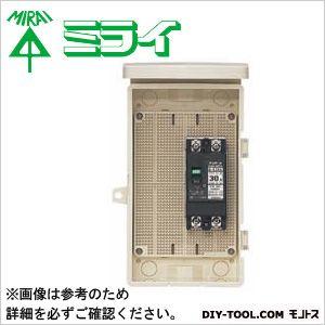 未来工業 組込み用配線ボックス 電気温水器・エコキュート用   1D-124B