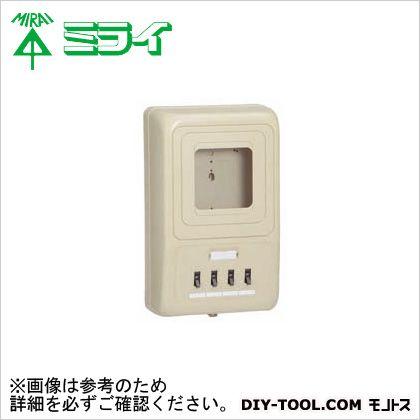 電力量計ボックス〈 分岐ブレーカ(2P1E・20A)〉   WP4-303J