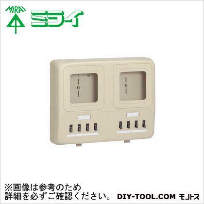 電力量計ボックス〈 分岐ブレーカ(2P1E・20A)〉 (WP4W-203J)