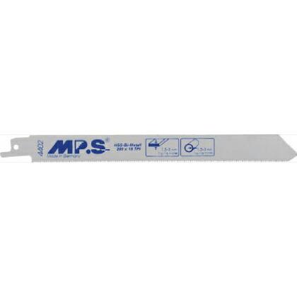 MPS MPS セーバーソーブレード 金属用 200mm×18山 5枚 1PK 4402   4402 1 PK