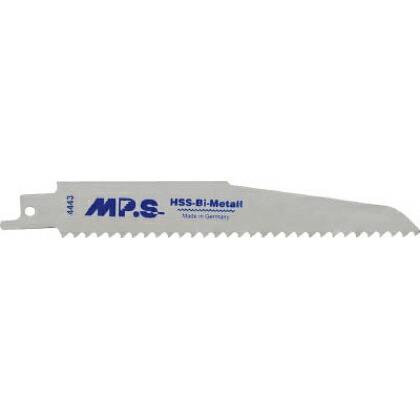MPS MPS セーバーソーブレード 厚刃・重切削用 150mm×8山 5枚 1PK 4443   4443 1 PK