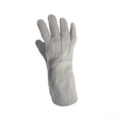 溶接用床革手袋5本指   109487