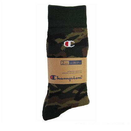 CMSBG008 靴下カモフラフルレングス2P アソート 25cm~27cm (154190)