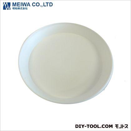 セラアート受皿 植木鉢皿(プラスチック樹脂製) 白 Sサイズ