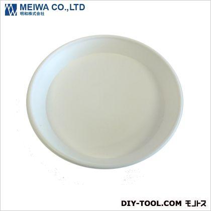 セラアート受皿 植木鉢皿(プラスチック樹脂製) 白 Mサイズ