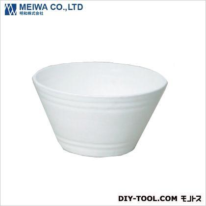 セラアート平鉢 植木鉢(プラスチック樹脂製プランター) 白 21号