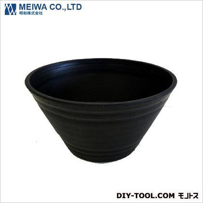 明和 セラアート平鉢21号 黒 mm210×115mm