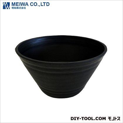 明和 セラアート平鉢 植木鉢(プラスチック樹脂製プランター) 黒 27号 軽量プランター プランター