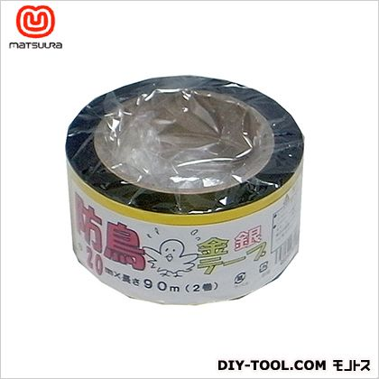 防鳥テープ(M) 金銀 約20mm×90m  2 巻