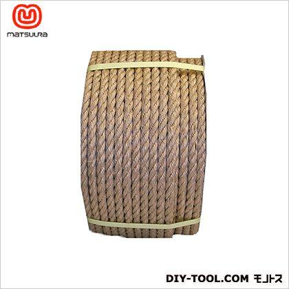 麻(サイザル)ロープドラム巻